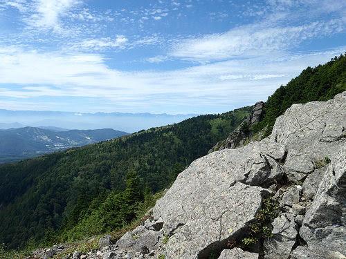 四阿山から撮影